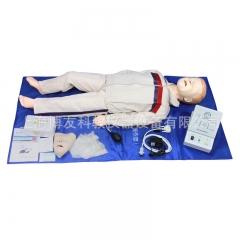 儿童心肺复苏模拟人 医院学校急救训练 少儿急救假人模型货号100.X85
