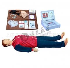 390B电脑心肺复苏模拟人 教学急救训练橡皮人货号100.X87
