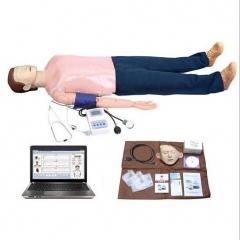 高级电脑多功能急救训练模拟人 心肺复苏与血压测量训练模型货号100.X94