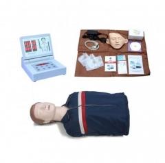 BOU/CPR290 高级全自动半身心肺复苏模拟人 半身急救CPR假人模型货号100.X95