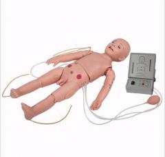 BOU/T432高级全功能一岁儿童模拟人 CPR急救护理小儿模型货号100.X98