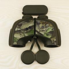 2016新颖设计高端10x50防水带电子罗盘双筒望远镜 质量保证 迷彩全包   货号100.L97