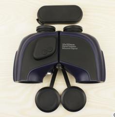 2016新颖设计高端10x50防水带电子罗盘双筒望远镜 质量保证  黑紫全包  货号100.L98