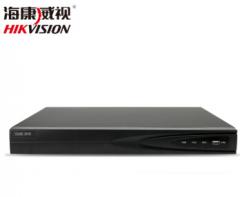 海康威视8路DS-7808N-K2/8P网络硬盘录像机高清NVR录像机POE供电监控录像机 DS-7808N-K2/8P 无硬盘 赠警示贴  货号100.C100