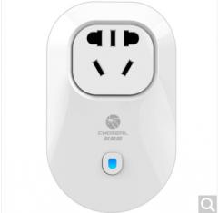 秋叶原(CHOSEAL)智能wifi无线定时插座 手机遥控/定时开关 无线插排智能插线板 国标插头货号100.ZD289