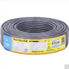 秋叶原(CHOSEAL)工程级超五类网线 高速网络线 纯铜网线 工程类网线 25米 QS2602AT25 货号100.ZD308 25米