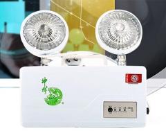 神龙 消防双头应急灯 3C认证高亮LED商用家用双头应急灯 KX-ZFZD-E3W1 货号100.H56