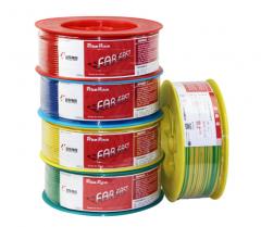 远东电线电缆BV4平方国标家装空调热水器用铜芯电线单芯单股硬线  100米货号100.S275 红色火线