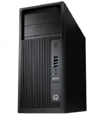 惠普 HP 惠普(HP)Z240 Tower 工作站 Z240 Tower/I7-6700 8G 1T DVD-RW HD530显卡 货号100.S351