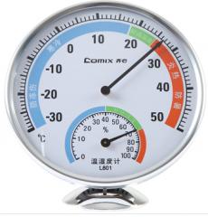 齐心 多用途指针式温湿度计  L801  货号100.L324