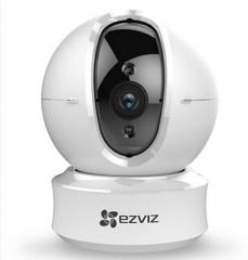 海康威视萤石 C6H 云台全景无线网络摄像头 高清夜视wifi远程监控防盗摄像机 语音对讲一体机 上门安装1年技术服务 货号100.X442