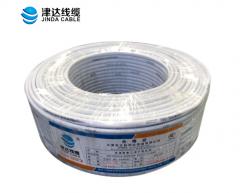 津达RVV4*0.5/0.75/1/1.5/2.5/4/6平方4芯铜芯软电线护套线100米 白色 货号100.S389 0.5平方