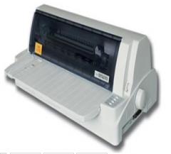富士通 DPK890 平推针式打印机 货号1010.C352