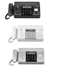 松下自动切纸 热敏自动切纸传真机 KX-FT876CN黑色/银色/白色  货号100.S427 白色