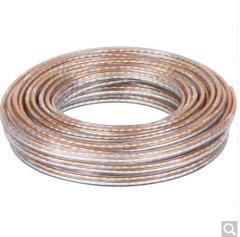 秋叶原(CHOSEAL)音频线  增强型屏蔽抗干扰 无氧铜200芯 货号100.ZD520 100米