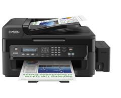 爱普生(EPSON)L551传真真一体机,墨仓式传真一体机,打印、复印、扫描、传真,四合一多功能一体机网络打印机 货号100.C433