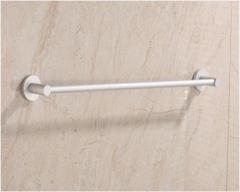 九牧60cm太空铬单杆生间浴室加厚毛巾杆 货号100.X518