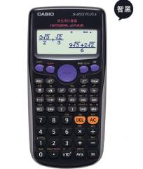 卡西欧(CASIO) FX-82ES PLUS A 函数科学计算器 慧白  82基础款 货号100.ZD597 黑色 82基础版