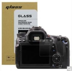 天气不错 佳能Canon 70D/80D单反相机 钢化玻璃屏幕保护贴膜 高透防刮防爆金刚膜  ZX.074