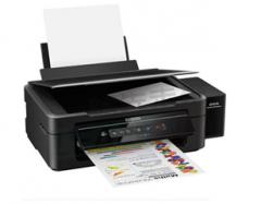 爱普生 L385 墨仓式 无线打印机一体机 打印 复印 扫描 手机打印 WiFi 货号100.C605