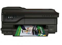 惠普(HP)彩色喷墨一体机 HP officejet pro 7612 货号100.C608