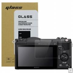 天气不错 索尼SONY 5000L/A5100L/6000L/6300L/6500L微单相机 钢化玻璃屏幕保护贴膜 高透防刮防爆金刚膜  货号100.X570