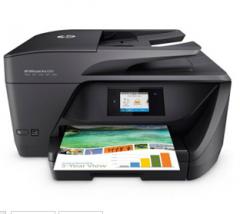 惠普(HP)6960 喷墨 彩色多功能一体机 打印 复印 扫描 传真 高速双面打印 货号100.C609