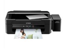 爱普生 L383墨仓式打印机 家用彩色喷墨一体机(打印 复印 扫描) 货号100.C612