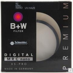 B+W uv镜 滤镜 62mm UV镜 XS-PRO 超薄多层纳米镀膜UV镜 保护镜  货号100.X598