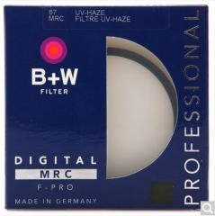 B+W 67mm MRC UV 铜圈多层镀膜UV镜  货号100.X601