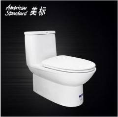 美标卫浴洁具 CP-2073 4.8升节水型虹吸式连体抽水马桶坐便器缓降  货号100.X624