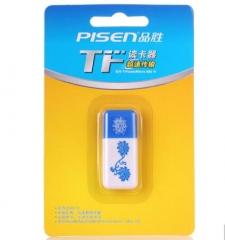 品胜(pisen)TF读卡器(青花瓷)  货号100.X633