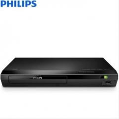 飞利浦(PHILIPS)3D蓝光机 DVD/CD/VCD播放机 音响 音箱 高清HDMI播放器 影碟机 USB播放器 黑色 BDP2590B/93  货号100.X636