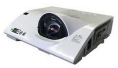 日立(HITACH)教育投影机 HCP-TX3300 反射短焦 3300LM 货号100.SD604