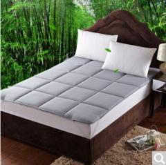 九洲鹿家纺 床品床褥子 可折叠无痕床垫子垫被 1.5米床  货号100.ZD701 1.5mx2.0m