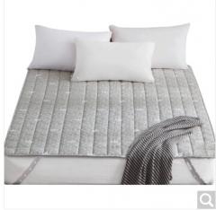 九洲鹿 床垫家纺 舒适透气床垫灰色 1.8米床 180*200cm 货号100.ZD702 1.5mx2.0m