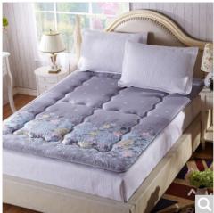 九洲鹿家纺 榻榻米可折叠学生加厚防滑床褥垫子 爱的花海-1.5x2m 货号100.ZD709 1.5mx2.0m