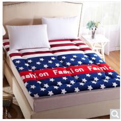 九洲鹿 床垫家纺 加厚防滑法莱绒床垫床褥子双人欧美时尚 1.5米床  货号100.ZD712 1.5mx2.0m