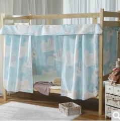 南极人(NanJiren)蚊帐 学生寝室床铺透气套件蓝色 1.2米床 1.2米高 货号100.734 单人 一个