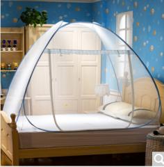 南极人(NanJiren)蚊帐家纺 免安装钢丝蒙古包 1.2米床 货号100.ZD737 单人 一个