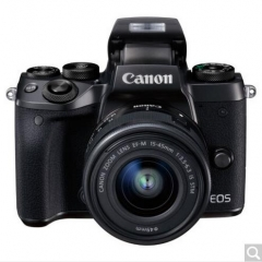 佳能(Canon)EOS M5 微单相机 可换镜数码相机 佳能EOS M5 (EF-M15-45mm IS STM镜头)  货号100.X684