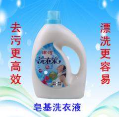 津河皂液洗衣液皂基强力去污3.5千克桶装 货号100.C632