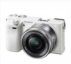 索尼(SONY)ILCE-6000 / a6000 微单相机 含(E16-50)白色  货号100.X688