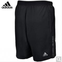 阿迪达斯adidas 运动服男款 羽毛球服 针织休闲短裤 AZ1829 黑色S -XXL码  货号100.ZD763 M