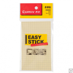 齐心(COMIX)24本装80张(76x125mm)方格便利贴/便签纸/便签本/易事贴 D6023 货号100.ZD773