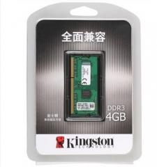 金士顿(Kingston)系统指定内存 DDR3 1600 4G 低电压笔记本内存  货号100.X711