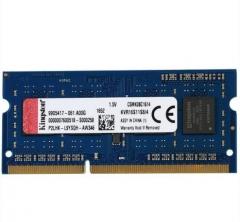金士顿(Kingston)DDR3 1600 4GB 笔记本内存  货号100.X713