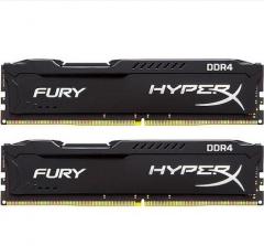 金士顿(Kingston)骇客神条 Fury系列 DDR4 2400 8G(4Gx2) 台式机内存  货号100.X714