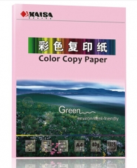 凯萨A4浅粉色复印纸 (297*210mm)100张/袋 货号100.N48