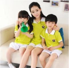 幼儿园园服 校服 运动服套装 货号100.L372 100CM  男绿色